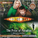 "Doctor Who ""The Price of Paradise"" (CD COVER ONLY) signed by Colin Brake 2404"